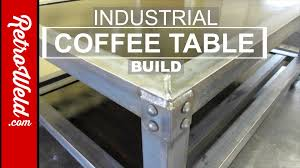 Industrial Coffee Table Diy Industrial Coffee Table Build Youtube