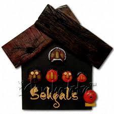 buy house shape name plate design with family faces in