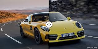 vs porsche 911 turbo mercedes amg gt s vs porsche 911 turbo