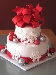 pretty christmas cakes time for the holidays holidaytreats