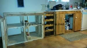 cuisine entierement equipee cuisine entièrement équipée avec palettesmeuble en palette meuble
