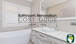 bathroom design perth 2016 perth bathroom renovation cost guide bathrooms