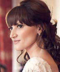 bridal hair for oval faces best 25 wedding hair bangs ideas on pinterest wedding hair