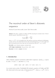 moscow journal of combinatorics and number theory