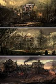 halloween post apocalyptic background zombie apocalypse wallpaper google search after the fall and