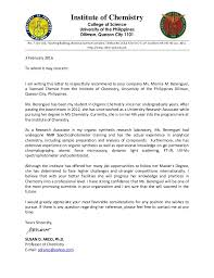 endorsement letter