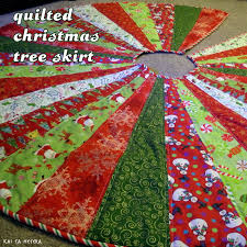 quilted christmas tree skirt merry christmas pictures