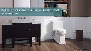 bathroom cool kohler toilets tresham one piece skirted toilet