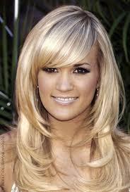 layered haircuts for curly hair medium haircuts layered with bangs women medium haircut