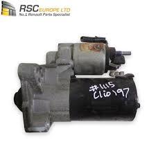 renault clio sport renault clio sport rs 200 starter motor 8200792969