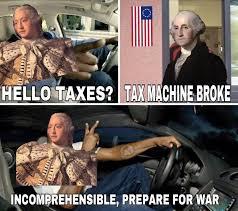 Theft Meme - fuk yo taxes