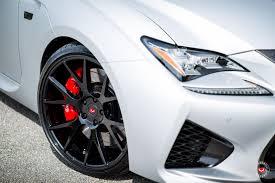 lexus rcf white lexus rcf vossen forged precision series vps 306 vossen wheels