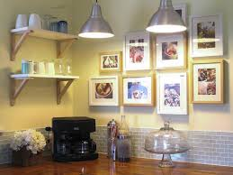 decorating ideas for kitchen walls 25 ways to dress up blank walls hgtv