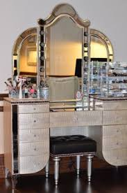 Make Up Dressers Wonderful Rooms With Make Up Vanity Table And Antique Mirror Ideas
