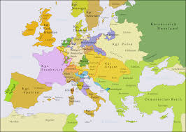 Map Of Europe 1939 Blank by