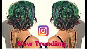 the latest hair colour techniques now trending on instagram succulent inspired hair color