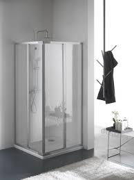 ferbox cabine doccia brio box doccia angolare scorrevole finitura bianco 80 cm