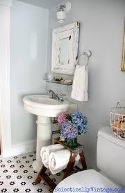 vintage bathroom storage ideas bathroom storage ideas love this old ladder flower vintage and