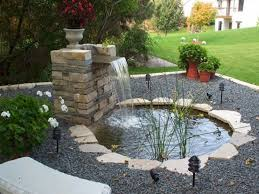 waterfall ideas for ponds indoor fish ponds with waterfall small