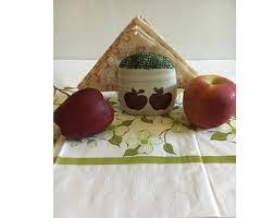 Kitchen Apples Home Decor Apple Napkin Holder Etsy