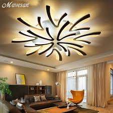 remote led ceiling lights modern for bedroom dimmer ceiling lamps