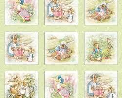 rabbit material best 25 beatrix potter fabric ideas on beatrix potter