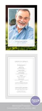 funeral program printing services best 25 memorial service program ideas on funeral