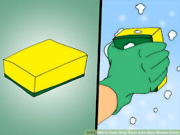 how to clean soap scum from glass shower doors 7 steps