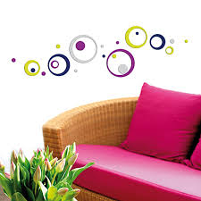 Pavimenti Adesivi Leroy Merlin by Wall Sticker 3d Foam S Colourful Circles Prezzi E Offerte Online