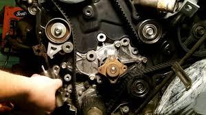mazda 626 v6 timing belt u0026 water pump part 1 youtube