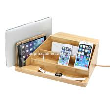 Charging Shelf Bamboo Charging Station Bamboo Charging Station Suppliers And