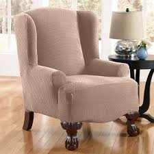 Wingback Chair Recliner Design Ideas Decor Tips Home Decor And Wingback Chair Slipcover With Side