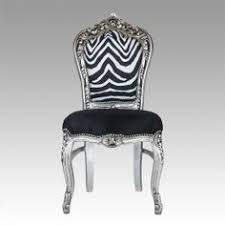 Zebra Dining Chairs Wooden Back Leather Lounge Chairs Faux Leather Brown
