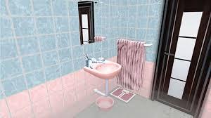 Japanese Bathroom by Ts3 Japanese Bathroom Set Noir And Dark Sims