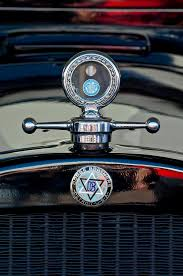 1928 dodge brothers ornament photograph by reger