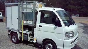 mitsubishi mini trucks japanese mini truck with lift box youtube