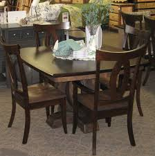 dining room furniture miami saratoga dining table and miami chair set amish oak