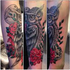 owl and roses so