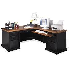 L Shaped Executive Desk Martin Furniture Southton Rhf L Shaped Executive Desk In Oynx