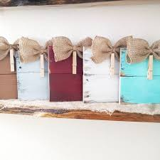 Home Decor With Burlap Rustic Clothespin Pallet Wood Picture Frame Photo Hanger Burlap