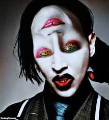 marilyn manson halloween two faced mad hatter and marilyn manson pictures