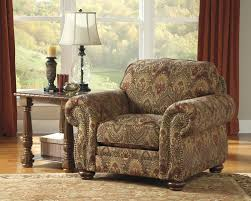 Traditional Accent Chair 2730021 Hessel Traditional Accent Chair With Brocade Upholstery