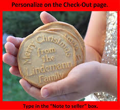 personalized christmas cookie cutters custom cookie stamp