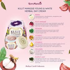 Masker Kulit Manggis Roro Mendut selamat datang perawatan wajah kulit manggis white herbal