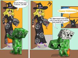 Mine Craft Halloween by Minecraft Halloween By Genesis K On Deviantart