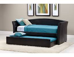 slumberland parsons collection brown daybed with trundle