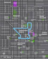 Chicago Trolley Map by Trolley Tour Of Downtown Phoenix National Association Of City