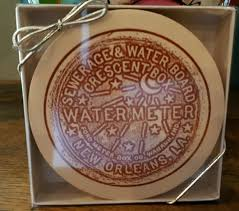 water meter new orleans new orleans water meter coasters pack of 12 dat city stuff