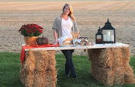 Fall Party Table Decorations - decorating ideas a harvest bonfire party