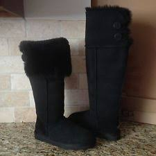 twisted boots womens australia ugg australia the knee twisted cable black knit boots womens